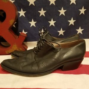Vtg Guess By Georges Marciano Leather Pointed Toe